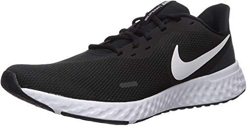 Nike Herren Revolution 5 Sneaker, Schwarz Black White Anthracite, 46 EU