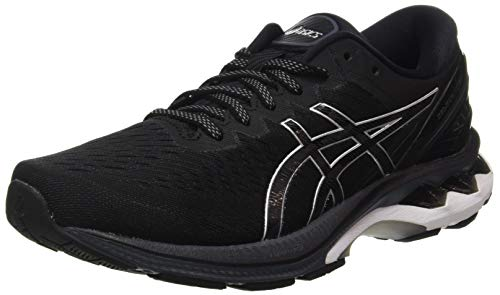 ASICS Herren Gel-Kayano 27 Road Running Shoe, Black/Pure Silver, 46 EU