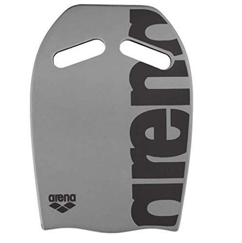 arena Unisex Schwimmbrett Kickboard als Schwimmhilfe oder zum Kraft- und Techniktraining), Silver (50), One Size