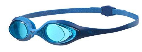 arena Spider Junior Anti-Fog Schwimmbrille für Kinder, Schwimmbrille mit UV-Schutz, Selbstjustierender Nasensteg, Hypoellergene Silikon Dichtungen