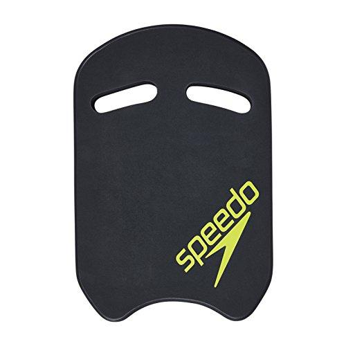 Speedo 812247 Kickboard, Schwimmbrett für Kinder, Schwimmhilfe für Erwachsene, Grau