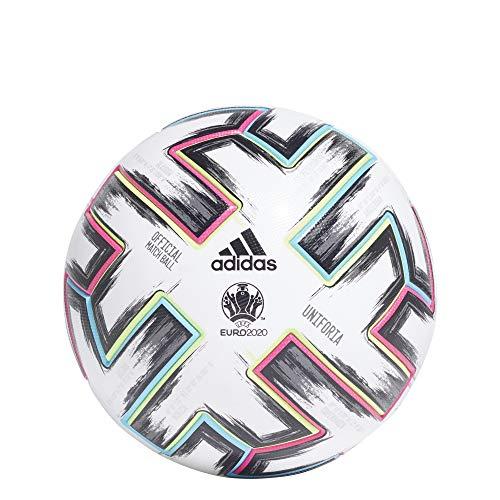 adidas FH7362 Uniforia Match Ball EURO 2020 Weiß Size 5